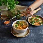 Linsensuppe - zupa z socz...