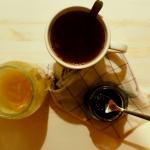 Herbata z konfiturą z...