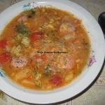 Zupa pomidorowa z kapusta...