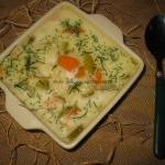 Zupa ogorkowa z makaronem...