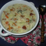 Zupa z kurkami i...