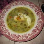 Zupa szczawiowa z jajkiem...