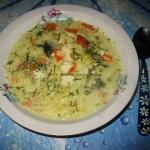 Zupa rybno-ogorkowa z zie...