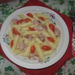 Makaron z sosem