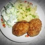 Kotlety mięsno -ryżowe