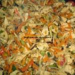 Pierś z warzywami