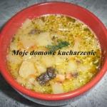Zupa z suszonych grzybow