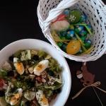 Wielkanocna salata z jajk...