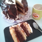 Mój urodzinowy tort...