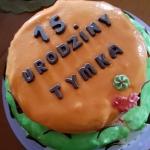 Podwójny tort dla Tymka