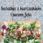 Salatka z kurczakiem i fe...