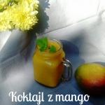 Sloneczny koktajl z mango...