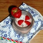 Kokosowy koktajl z chia