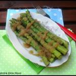 Zielone szparagi z...