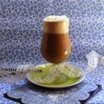 Zimna kawa latte z...
