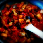 sos pomidorowy z baklazan...