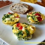 Muffiny jajeczne ze szpin...