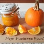 Dzem z dyni i pomaranczy