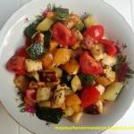 Grillowane warzywa z sere...