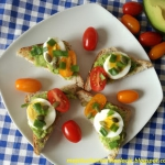 Tosty z guacamole i jajki...