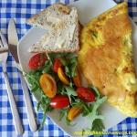 Francuski omlet z szynka ...