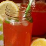 Lemoniada z rabarbaru