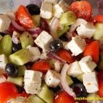 Salatka grecka - horiatik...