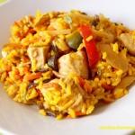 Kurczak z ryżem i...