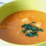 Kremowa zupa pomidorowa z...