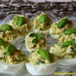 Jajka faszerowane z awoka...