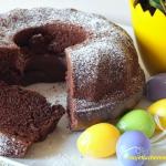 Drozdzowa babka kakaowa