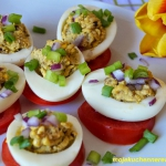 Jajka faszerowane sardynk...
