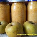 Jabłka w słoikach na...
