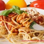 Razowe spaghetti z...