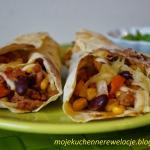 Burrito w tortilli...
