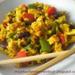 Kurczak z ryzem curry z c...