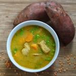 Zupa w stylu curry