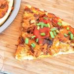Pizza z rwana lopatka