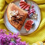 Omlet z maki jaglanej