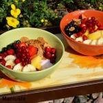 Kasza kuskus z owocami