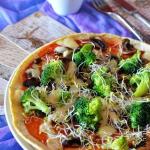 Omlet z patelni jak pizza