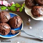 Muffinki kakaowe z czekol...