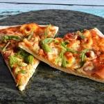 Pizza z makaronem