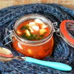 Zupa pomidorowa z mozzare...