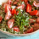 Sałatka pomidorowa z...