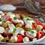 Salatka z kielbasa