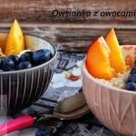 Owsianka z owocami