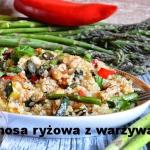 Komosa ryzowa z warzywami...