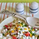 Salatka warzywna z twaroz...