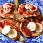 Placki sniadaniowe z bana...